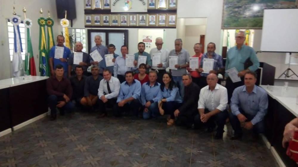 Câmara de Vereadores homenageou ex ferroviarios com Sessão Solene